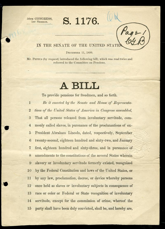 Ex Slave Bill